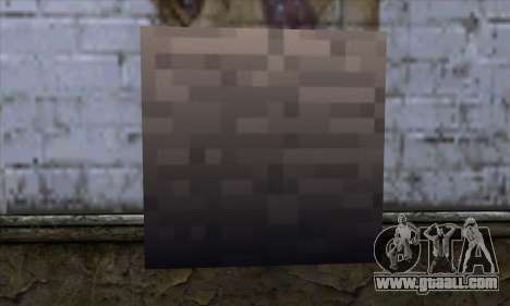 Block (Minecraft) v13 for GTA San Andreas