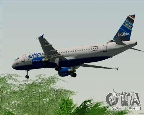 Airbus A320-200 JetBlue Airways for GTA San Andreas