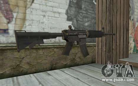M4 from Sniper Warrior-Ghost for GTA San Andreas second screenshot