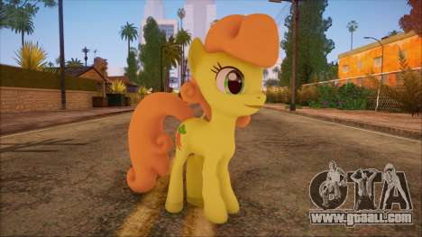 Carrot Top from My Little Pony for GTA San Andreas