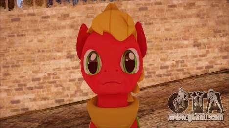 Big Macintosh from My Little Pony for GTA San Andreas third screenshot