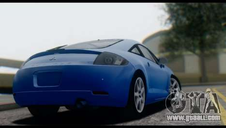 Mitsubishi Eclipse 2006 for GTA San Andreas back view