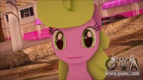 Daisy from My Little Pony for GTA San Andreas third screenshot