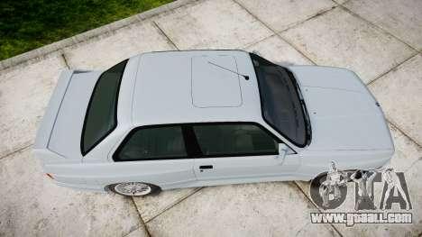 BMW M3 E30 1991 [EPM] for GTA 4 right view