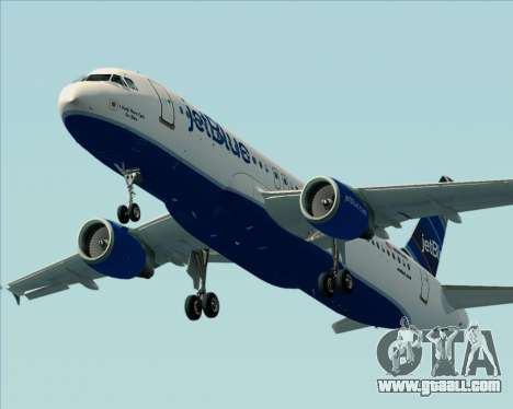Airbus A320-200 JetBlue Airways for GTA San Andreas engine