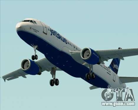 Airbus A320-200 JetBlue Airways for GTA San Andreas engine