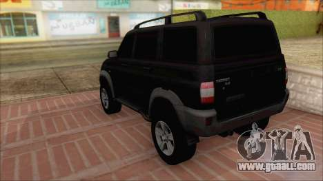 UAZ Patriot for GTA San Andreas left view