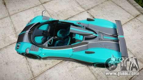 Pagani Zonda Uno for GTA 4 right view