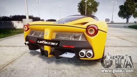 Ferrari LaFerrari [EPM] v1.2 for GTA 4 back left view