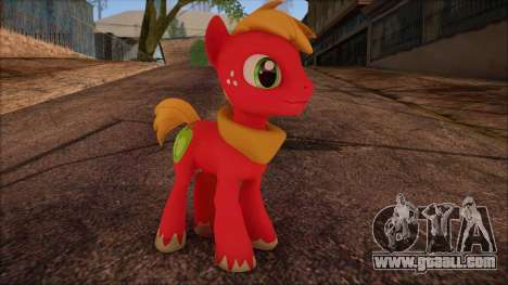 Big Macintosh from My Little Pony for GTA San Andreas