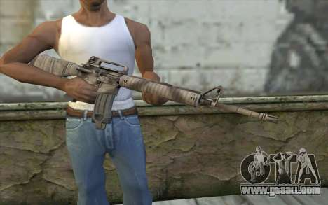M16A4 from Battlefield 3 for GTA San Andreas third screenshot