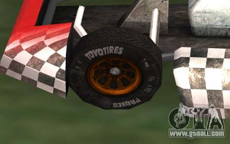 Updated Kart for GTA San Andreas for GTA San Andreas right view