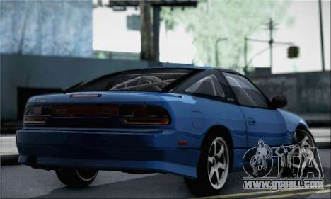 Nissan 180SX Facelift Silvia S15 for GTA San Andreas left view