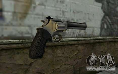 Revolver from Max Payne 3 for GTA San Andreas second screenshot