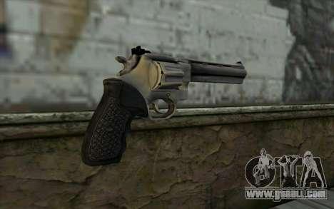 Revolver from Max Payne 3 for GTA San Andreas second screenshot