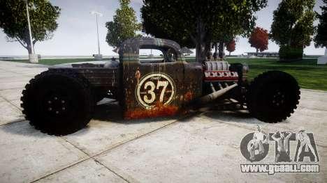 Dumont Type 47 Rat Rod PJ1 for GTA 4 left view