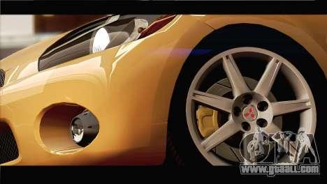 Mitsubishi Eclipse 2006 for GTA San Andreas side view