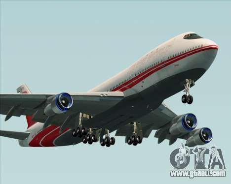 Boeing 747-100 Trans World Airlines (TWA) for GTA San Andreas engine