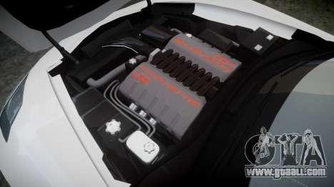 Chevrolet Corvette C7 Stingray 2014 v2.0 TireYA1 for GTA 4 side view