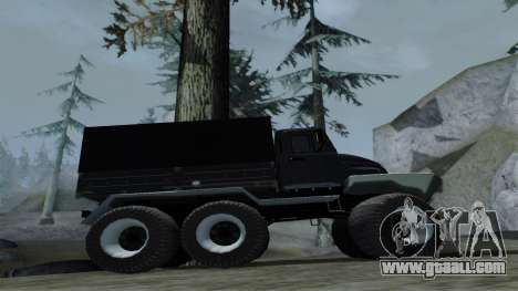 ZIL Kerzhak 6x6 for GTA San Andreas back view