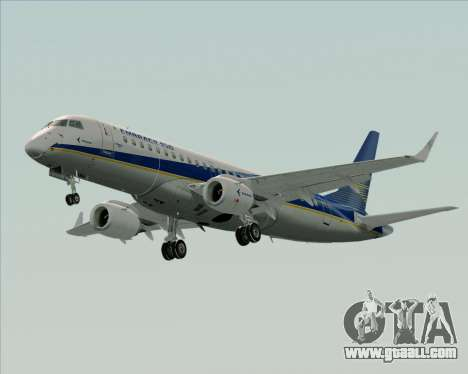 Embraer E-190-200LR House Livery for GTA San Andreas side view