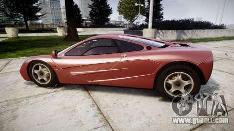 Mclaren F1 1993 [EPM] for GTA 4 left view