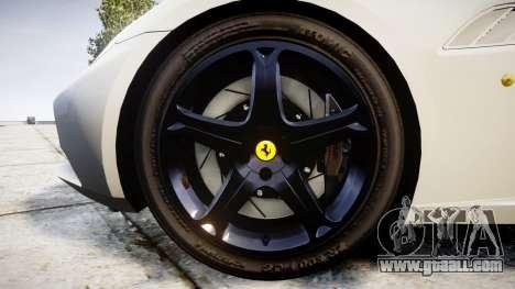 Ferrari California [EPM] v1.5 for GTA 4 back view