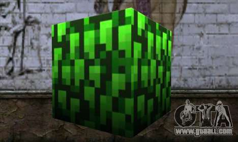 Block (Minecraft) v12 for GTA San Andreas second screenshot