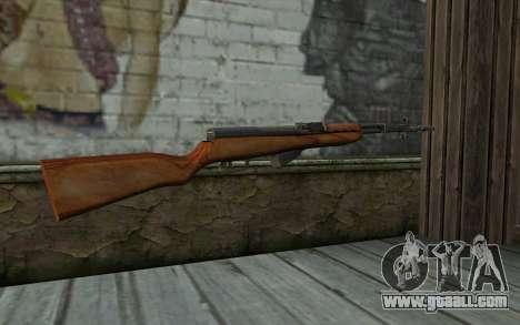 Simonov Self-Loading Carbine for GTA San Andreas second screenshot