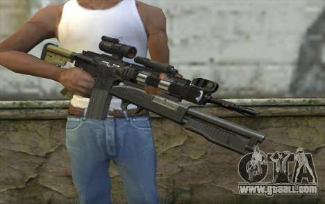 M4 MGS Aimpoint v3 for GTA San Andreas third screenshot