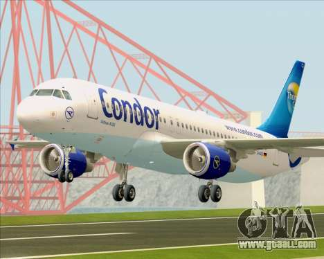 Airbus A320-200 Condor for GTA San Andreas