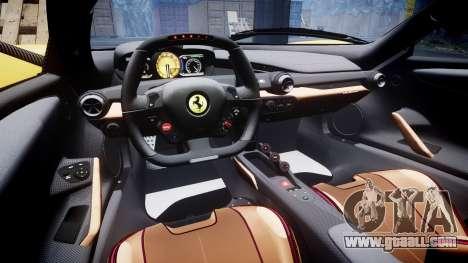 Ferrari LaFerrari [EPM] v1.2 for GTA 4 inner view