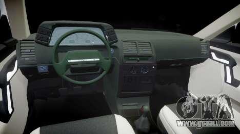 VAZ-2112 hobo for GTA 4 inner view