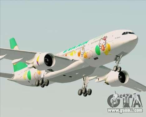 Airbus A330-200 EVA Air (Hello Kitty) for GTA San Andreas side view