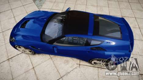 Chevrolet Corvette C7 Stingray 2014 v2.0 TireYA3 for GTA 4 right view