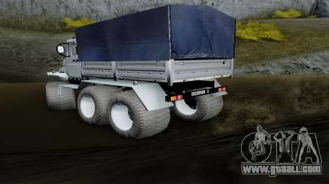 ZIL Kerzhak 6x6 for GTA San Andreas left view