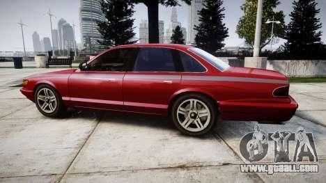 Vapid Stanier Rims Minivan for GTA 4 left view