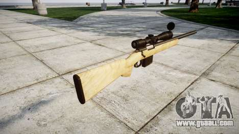 Sniper rifle with HQ textures for GTA 4 second screenshot