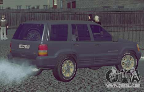 Jeep Grand Cherokee ZJ for GTA San Andreas left view