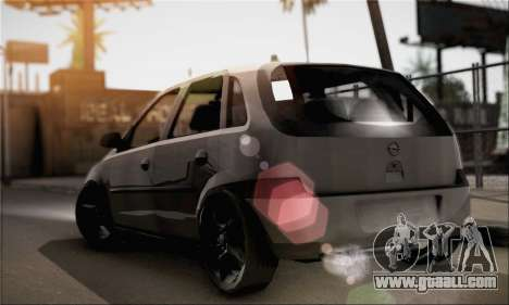 Opel Corsa 5-Doors for GTA San Andreas left view