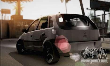Opel Corsa 5-Doors for GTA San Andreas left view