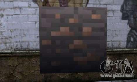 Block (Minecraft) v7 for GTA San Andreas