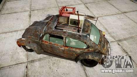 Volkswagen Beetle rust for GTA 4 right view