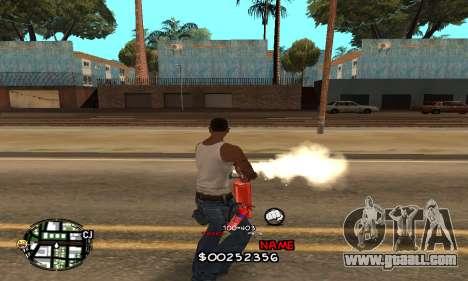 C-HUD by Jackson for GTA San Andreas third screenshot