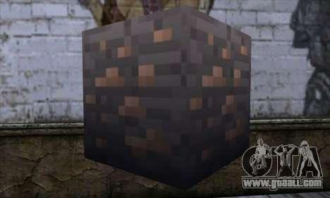 Block (Minecraft) v7 for GTA San Andreas second screenshot