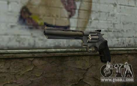 Revolver from Max Payne 3 for GTA San Andreas