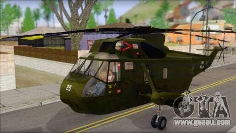 Helicopter Nuri Malaysia Mod (Seaking) for GTA San Andreas