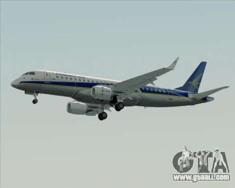 Embraer E-190-200LR House Livery for GTA San Andreas back left view