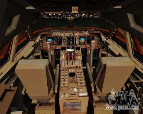Boeing 747-100 Trans World Airlines (TWA) for GTA San Andreas interior