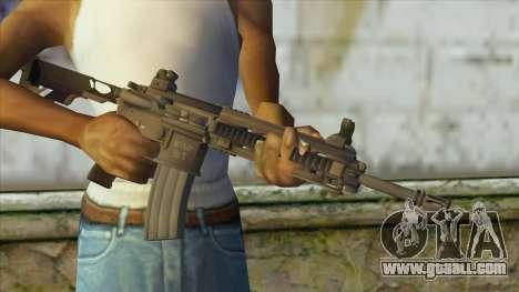 M4 from Battlefield 4 for GTA San Andreas third screenshot